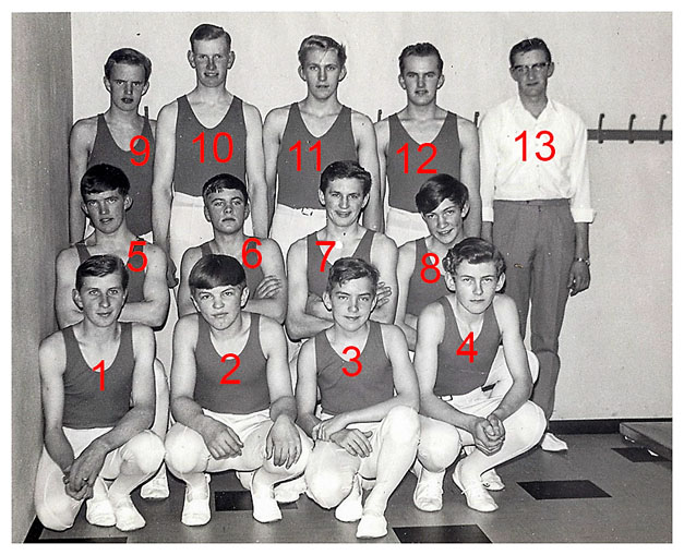Gymnastikhold 1968
