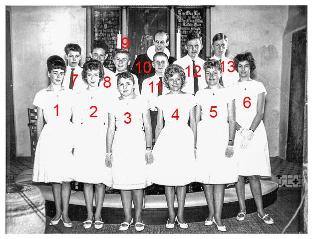 konfimation Boddum 1963-2