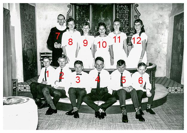 konfirmation Boddum 1962-2