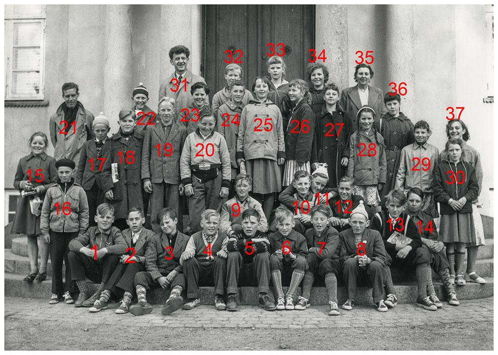 Skoletur til København 1957