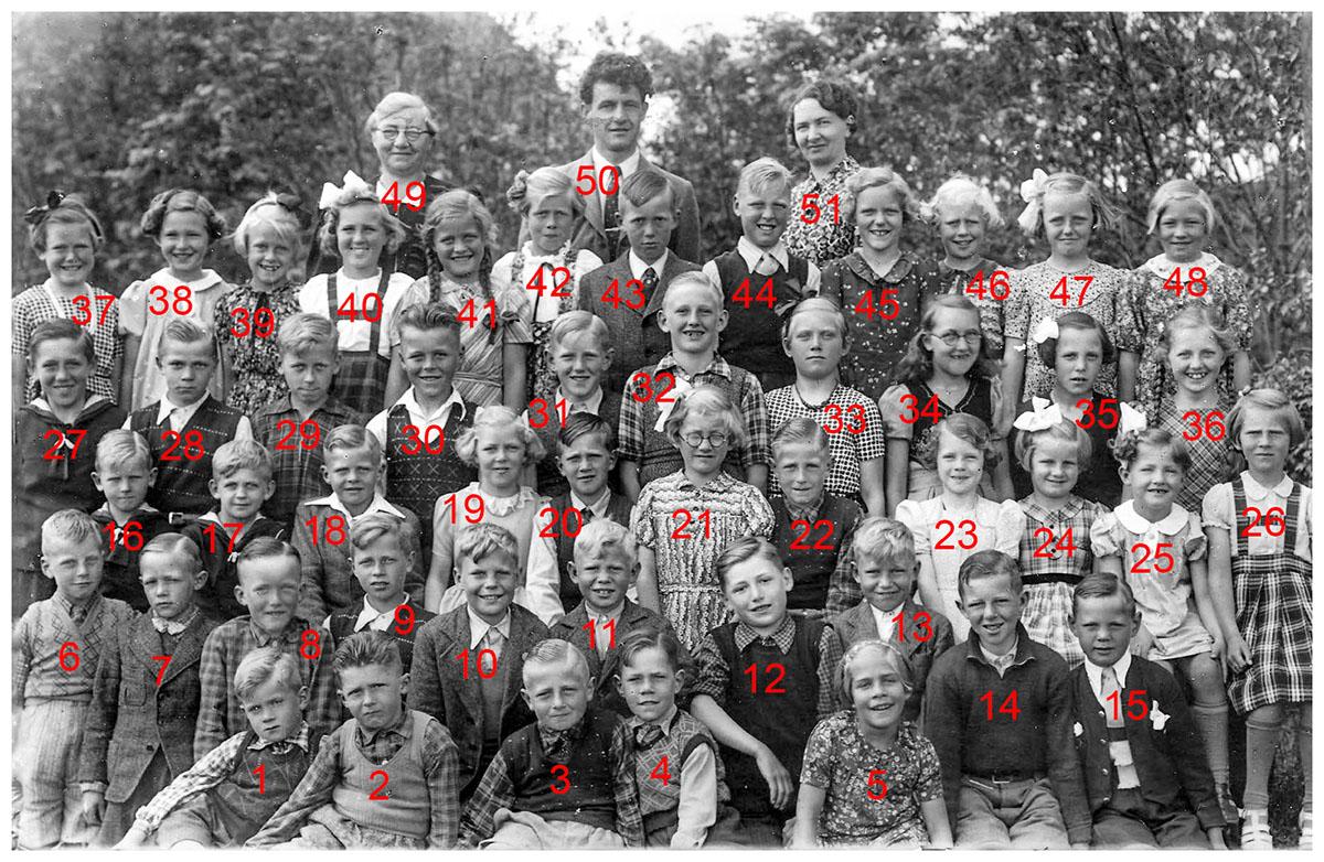 Skolebillede 1943