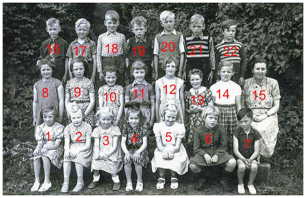 skolebillede 1954