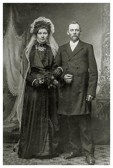 Christine og Niels Christian Nielsen, 1913