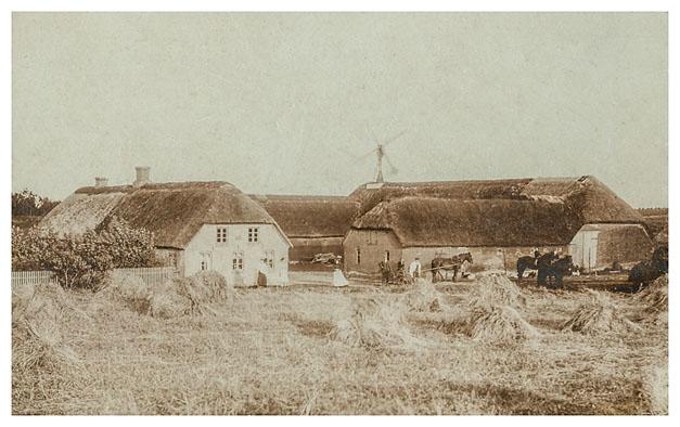 Kløvenhøjvej 20. Cirka 1920.
